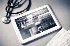 Digital technologies in medicine Stock Photos