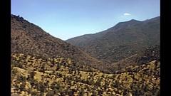 Yosemite NP panorama Stock Footage
