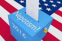 Nepotism - favoritism concept Stock Illustration
