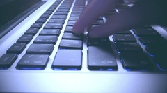 Turbo High-Speed Typing  on the Keyboard. Arkistovideo