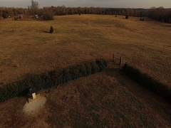 Georgia Guidestones Aerial. Stock Footage