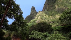 Iao Needle Maui Stock Footage