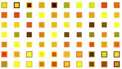 4k vj square neon light array matrix background cube big data database backdrop Stock Footage