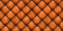 Seamless texture leather upholstery sofa Stock Illustration
