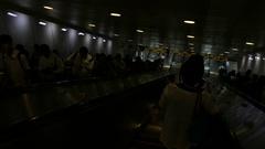 Taipei Metro main station Stock Footage