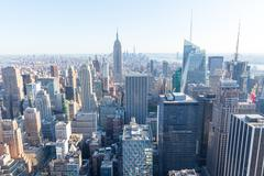 New York City. Manhattan, Empire State Building Stock Photos