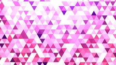 Abstract triangles background Stock Footage