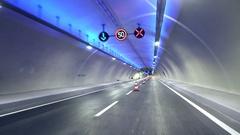 Euroasia Tunnel in Istanbul Stock Footage