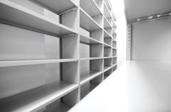 Archive storage units Stock Photos