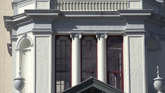 Zoom out, Florida State Capitol building, Tallahassee, Historic Capitol Museum Stock Footage