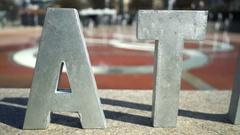 ATL at Centennial Olympic Park Stock Footage