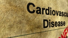 Cardiovascular disease confirm Stock Footage