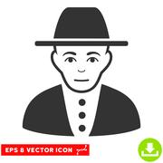 Jew EPS Vector Icon Piirros