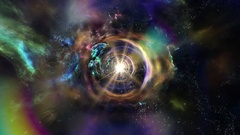 8K Space Stock Video 8002 Traveling through star fields in space Stock Footage