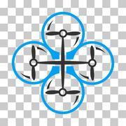 Drone Screws Vector Icon Stock Illustration