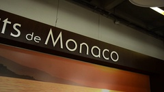 Traveling in Monte Carlo, Monaco, Europe. Stock Footage