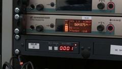 Professional music equipment Stock Footage