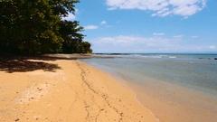Beautiful dream paradise nature beach madagascar Stock Footage