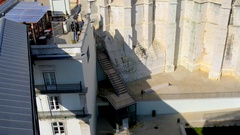 Convent of Our Lady of Mount Carmel, Lisbon Stock Footage