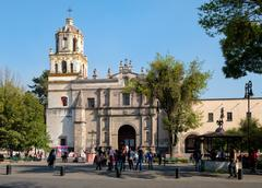 The Coyoacan Cathedral in Mexico City Kuvituskuvat