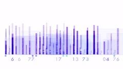 4k Audio equalizer music rhythm volume speakers waves spectrum heart-rate vj. Stock Footage