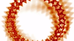 4k Blue stars made up aura hole tunnel abstract vj background. Stock Footage