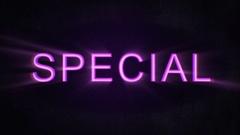 Special Retro Stock Footage