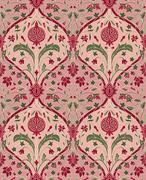 Pink floral pattern for wallpaper. Stock Illustration