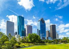 Skyline of Houston, Texas Kuvituskuvat