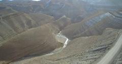 Aerial, Gorge Du Dades, Dades Gorge, Morocco Stock Footage