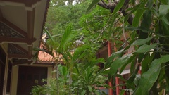Long Son pagoda in Nha Trang, Vietnam. Slow motion Stock Footage
