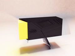Abstract Box Shape Stock Footage