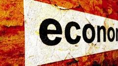 Economy grunge concept Stock Footage