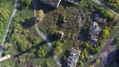 Shooting quadrocopters top view Stock Footage