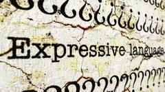 Expressive language disorder Stock Footage