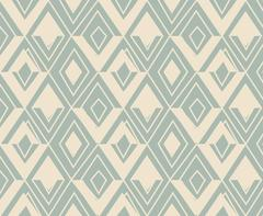 Antique seamless background triangle geometry golden line Stock Illustration