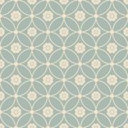 Antique seamless background round cross frame flower Stock Illustration