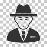 Agent Vector Icon Stock Illustration
