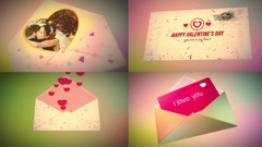 Envelope.Happy Valentine's Day Stock After Effects