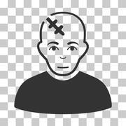 Head Hurt Vector Icon Stock Illustration