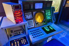 Aircraft carrier navigation equipment. Kuvituskuvat