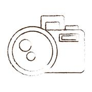 Sketch draw photo camera picture image icon Piirros