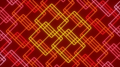 Red abstract background, moving line, loop Stock Footage