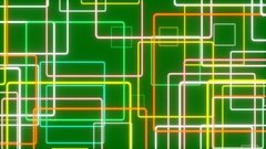 Green abstract background, moving line, loop Stock Footage