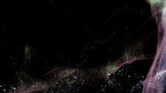 Traveling through star fields in space - Space Travel 2205 Stock Footage Stock Footage