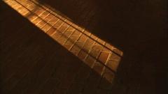 Brick floor with shadow Stock Footage