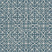 Seamless retro worn out background spiral geometry kaleidoscope Stock Illustration