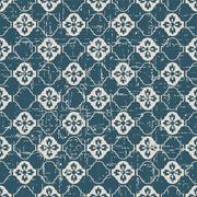 Seamless retro worn out background tracery curve flower Stock Illustration