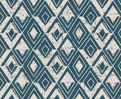 Seamless retro worn out background triangle geometry golden line Stock Illustration