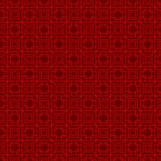Seamless Chinese geometry square polygon lattice window tracery pattern bac.. Stock Illustration